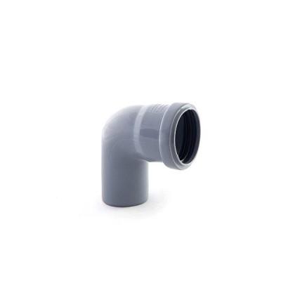 Отвод канализационный 40х90* ПВХ