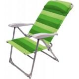Кресло-шезлонг складное 2 К2 зеленый