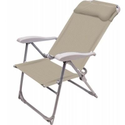 Кресло-шезлонг складное 2 К2 песочный